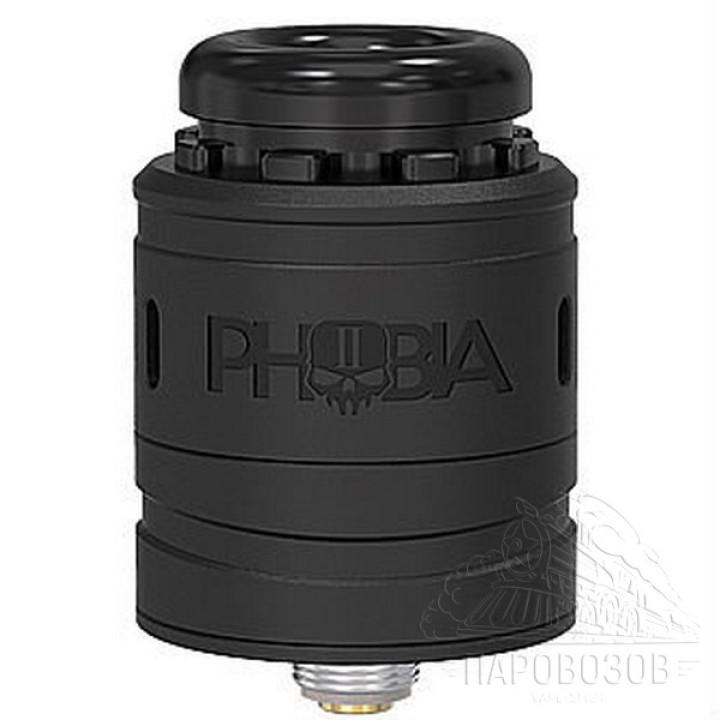 Дрипка Vandy Vape(клон) PHOBIA V2 black HL-046-B Черный
