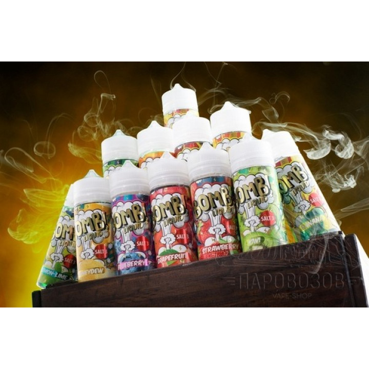 Bomb! Liquid Strawberry 120мл Slt3