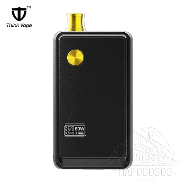 Authentic Think Vape ZETA AIO 60W VW Pod System Starter Kit Black